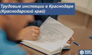 Трудовая инспекция Краснодарского края – официальный сайт, горячая линия